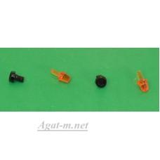 055-1-ААА Маяк проблесковый С-12-55 оранжевый