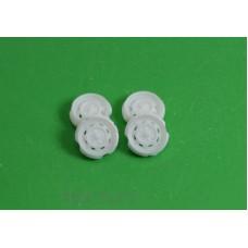 022Д-АЗС Диски на ВАЗ-2101 (белый), 4шт.