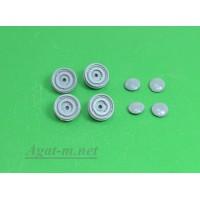 034Д-АЗС Комплект диски и колпаки на ЗИМ 4шт.