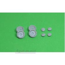 036Д-АЗС Комплект дисков и колпаков для ЗАЗ, 4шт.