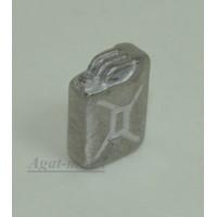 001-АЗС Канистра 20 л. серебристая (олово)