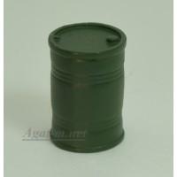 003-АЗС Бочка 200 л. зеленая (олово)