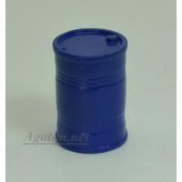 005-АЗС Бочка 200 л. синяя (олово)