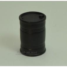 Бочка 200 л. черная (олово)