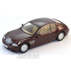 50922-AVT Bugatti EB 118 Genf 2000г. dark red metallic