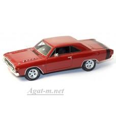 43001-HW Dodge Dart 1968г. красный
