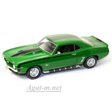 43005-HW Chevrolet Camaro 1969г. зеленый
