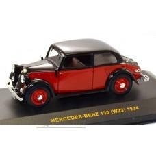 026MUS-IX Mercedes-Benz 130 W23 1934 Red and Black