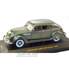 033MUS-IX Chrysler AIRFLOW Sedan 1936 Gray/Green Mettalic