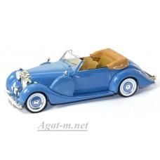 039MUS-IX LAGONDA LG6 DROPHEAD Coupe 1938г. голубой