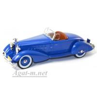 043MUS-IX PACKARD V12 LeBARON Speedster 1934г. синий
