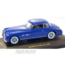 047MUS-IX BUGATTI TYPE 101 (Chassis 57454) 1951 Blue