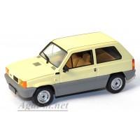 068CLC-IX FIAT PANDA 34 Beige 1980г. песочно-серый
