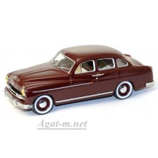 Масштабная модель  Ford Vedette 1954г. темно-вишневый