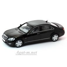 03632BKS-KYS Mercedes-Benz S 600 Guard (V221) Black