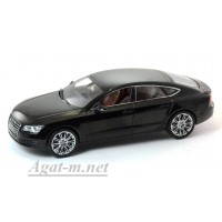 03821HBK-KYS Audi A7, Havanna Black Metallic