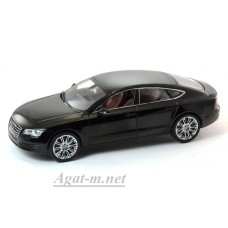 03821HBK-KYS Audi A7, Havanna Black Metallic