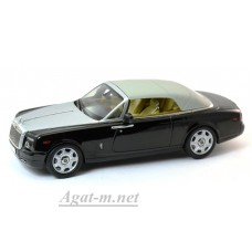 05532DBK-KYS Rolls Royce Phantom Drophead Coupe, Diamond Black