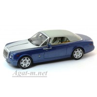 05532MB-KYS Rolls-Royce Phantom Drophead Coupe, Metropolitan Blue