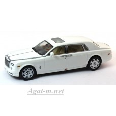 05543EW-KYS Rolls-Royce Phantom Extended Wheelbase 2003 г. English White II
