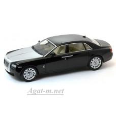 Масштабная модель Rolls Royce Ghost EWB LHD 2010 черного цвета