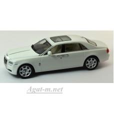 05551EW-KYS Rolls Royce Ghost EWB LHD 2010 г. English White II
