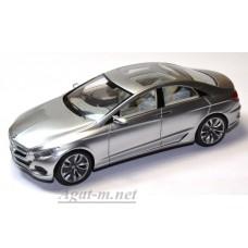 Масштабная модель Мерседес Бенс F800 Concept 2010 серебряного цвета