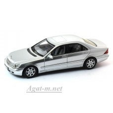 Масштабная модель Mercedes-Benz W220 S Klass, Silver