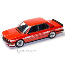 Масштабная модель Alpina B7 Turbo (E12) красного цвета