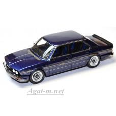 Масштабная модель Alpina B7 S Turbo (E12) матовый синий