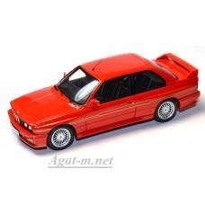 Масштабная модель авто  BMW Alpina B6 E30 красная