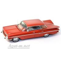 2903S-SPK Chevrolet Impala Sedan 4 Windows 1959 Red
