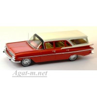 2905S-SPK Chevrolet Impala Station Wagon 1959 г. Red w. White roof
