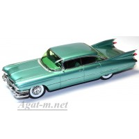 2913S-SPK Cadillac Sixty Two Sedan Six windows 1959 Green