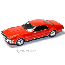 Масштабная модель Oldsmobile Toronado 1968 красная