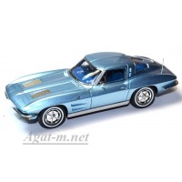 2971S-SPK Chevrolet Corvette Sting Ray coupe 1963 blue