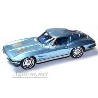 2971S-SPK Chevrolet Corvette Sting Ray coupe 1963 blue