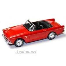 Масштабная модель Sunbeam Tiger MK1 Convertible 1964 красный
