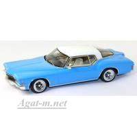 114333-TSM Buick Riviera 1971г. светло-синий