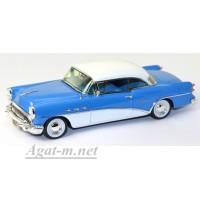 114337-TSM Buick Century Coupe 1954г. синий/белый