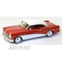 114338-TSM Buick Century Coupe 1954г. красный/белый