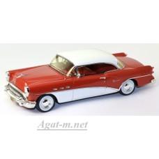 Масштабная модель Buick Century Coupe 1954г. красный/белый