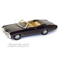 134312-TSM Chevrolet 1967г. Impala SS 2 Door Convertible, темно-фиолетовый