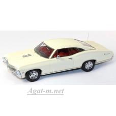 134314-TSM Chevrolet 1967г. Impala 2 Door Coupe, белый