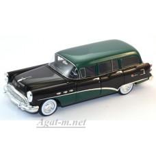 144315-TSM Buick Century Estate Wagon 1954г. black/green