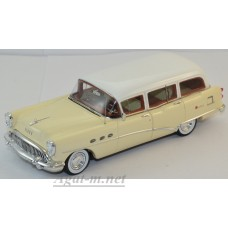 144316-TSM Buick Century Estate Wagon 1954г. tan/white)