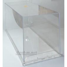001А-ДИП Бокс (129*309*135 мм) с прозрачной подставкой