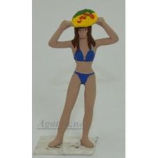 007-АГАТ Девушка в купальнике
