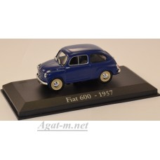 01АД-ALT Fiat 600 1957 Blue