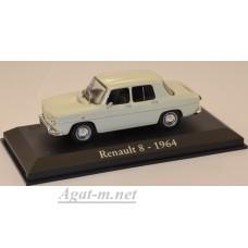 11АД-ALT Renault 8 1964 Beige